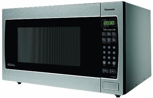 Panasonic Genius NN-SN973S 2.2 cuft 1250 Watt Microwave with Inverter Technology, Stainless Steel