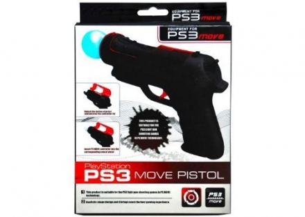 CrazyOnDigital PS3 Move Gun Game Controller. CrazyOnDigital Retail Package
