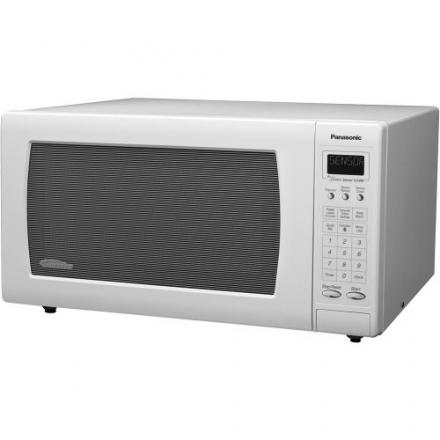Panasonic NN-H765WF Genius 1.6 cuft 1250 Watt Sensor Microwave w/Inverter Technology,White