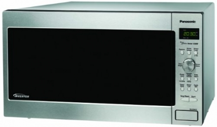 Panasonic NN-SD962S Genius 2.2 cuft 1250-Watt Sensor Microwave with Inverter Technology, Stainless Steel