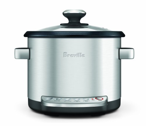 Breville BRC600XL The Risotto Plus Sauteing Slow Rice Cooker and Steamer