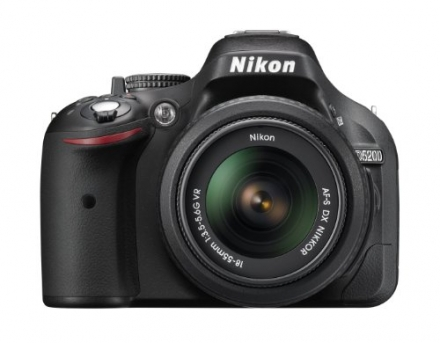 Nikon D5200 24.1 MP CMOS Digital SLR with 18-55mm f/3.5-5.6 AF-S DX VR NIKKOR Zoom Lens (Black)