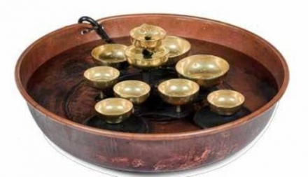 WOODSTOCK PERCUSSION, INC. Water Bell Fountain