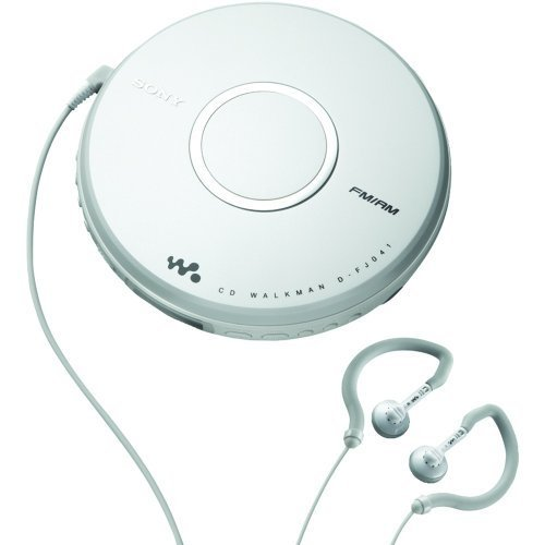 Sony Walkman Portable All-in-one Skip-Free CD Player – Digital AM / FM Radio Tuner with Clip Style E