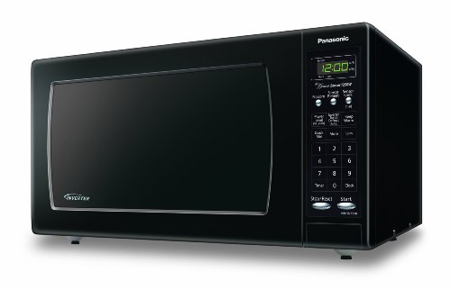 Panasonic NN-SN733B Sensor Microwave Oven with Inverter Technology, 1.6 Cubic Feet, Black