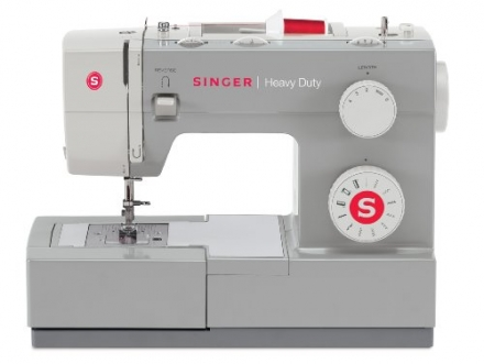 SINGER 4411 Heavy Duty Extra-High Sewing Speed Sewing Machine with Metal Frame and Stainless Steel B