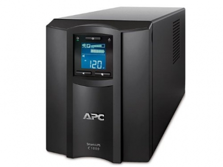 APC SMC1000 Smart-UPS 1000VA 120-Volt LCD UPS RJ-45 Serial 100 BTU/Hr System with Uninterrupted Powe