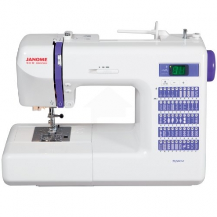 Janome DC2014 Computerized Sewing Machine with 50 Built-In Stitches w/ Hard Case + Walking Foot + 1/