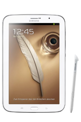 Samsung Galaxy Note 8.0″ 16GB WiFi + GSM GT-N5100 Factory Unlocked (White)