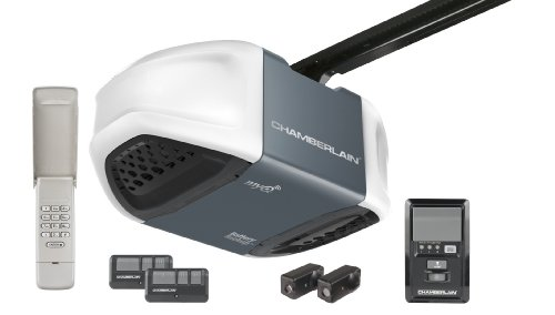 Chamberlain WD962KEV Whisper Drive Garage Door Opener with MyQ Technology and Battery Backup