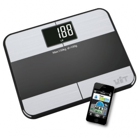 WiTscale S1 Body Fat Scale, Black