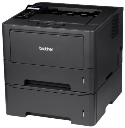 Brother High-Speed Monochrome Laser Printer with Wireless Networking, Duplex and Dual Paper Trays (H