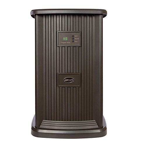 Essick Air EP9 800 Digital Whole-House Pedestal-Style Evaporative Humidifier, Espresso