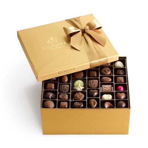 GODIVA Chocolatier 140 pc. Gold Ballotin – Classic