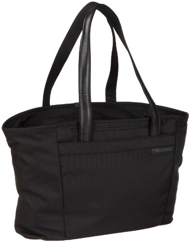 Briggs & Riley Baseline Large Shopping Tote,Black,13x17x7.3