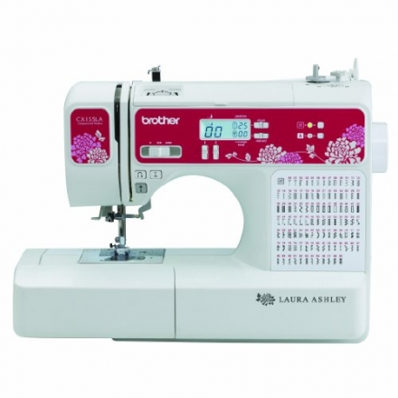 Laura Ashley Limited Edition CX155LA Computerized Sewing & Quilting Machine with Built-in Font for B