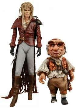 Neca Labyrinth Jareth and Hoggle 7″ Action Figure 2 Pack