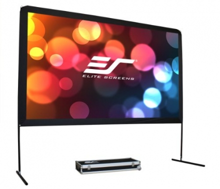 Elite Screens 150 Inch 16:9 Yard Master Outdoor Theater Portable Projector Screen (73.5″Hx130.7″W)
