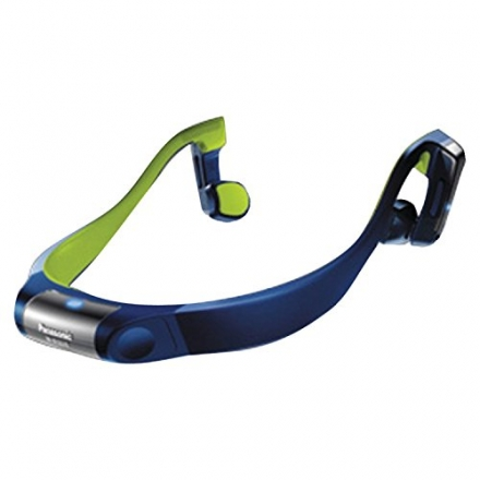 Panasonic RP-BTGS10-A Bluetooth Wireless Bone Conduction Headphones (Blue)