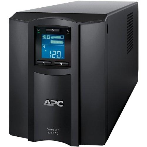 APC SMC1500 Smart-UPS 900 Watts/1500 VA Input 120V/Output 120-Volt Interface Port USB with Uninterru