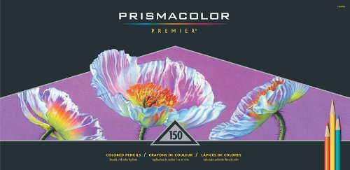 Prismacolor Premier Soft Core Colored Pencils, 150 Colored Pencils