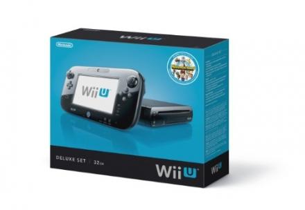 Nintendo Wii U Console – 32GB Black Deluxe Set