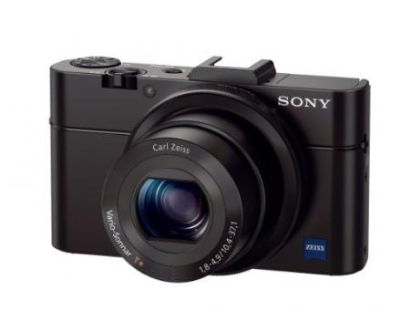 Sony DSC-RX100M II Cyber-shot Digital Still Camera 20.2MP, Black