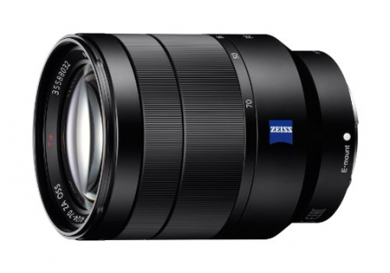 Sony 24-70mm F4 Vario-Tessar T* FE OSS Interchangeable Full Frame Zoom Lens