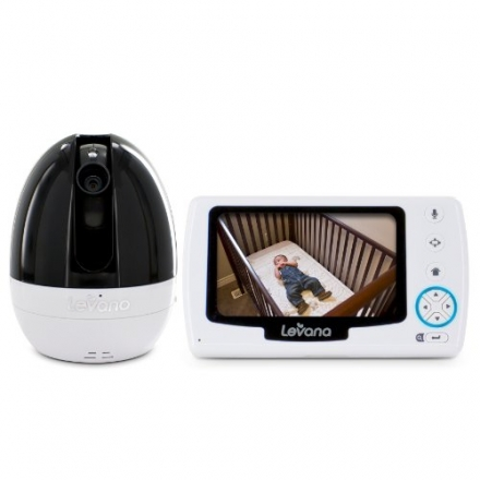 Levana Stella 4.3″ PTZ Digital Baby Video Monitor with Talk to Baby Intercom