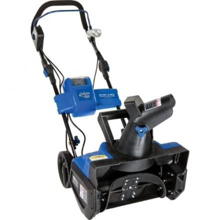 Snow Joe iON18SB Ion Cordless Single Stage Brushless Snow Blower with Rechargeable Ecosharp 40-volt