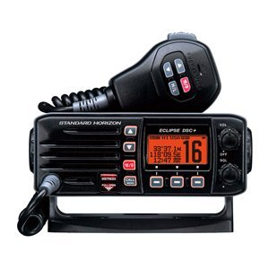 Standard Horizon GX1200B Standard Eclipse DSC and VHF Marine Radio – Black