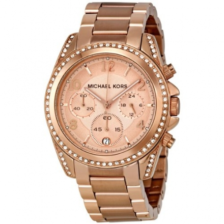 Michael Kors Women's MK5263 Blair Rose Gold-Tone Watch