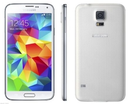 New Smart Phone Samsung Galaxy S5 SM-G900 White (FACTORY UNLOCKED) 5.1″ Full HD , 16MP , IP67