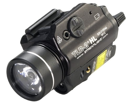 Streamlight 69261 TLR-2 HL High Lumen Rail-Mounted Tactical Light with Red Laser