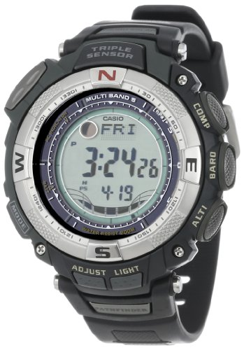 Casio Men's PAW1500-1V Pathfinder Multi-Band Solar Atomic Ultimate Watch