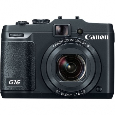 Canon PowerShot G16 12.1 MP CMOS Digital Camera with 5x Optical Zoom and 1080p Full-HD Video