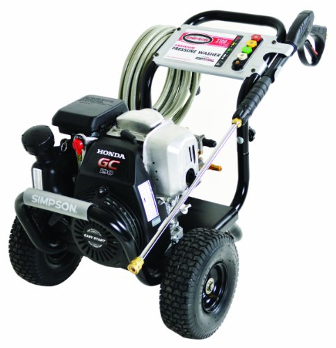 Simpson MSH3125-S MegaShot 3100 PSI 2.5 GPM Honda GCV190 Engine Gas Pressure Washer