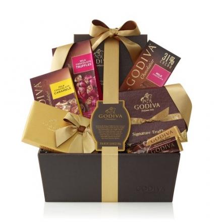 GODIVA Chocolatier Pure Bliss Gift Basket – Classic