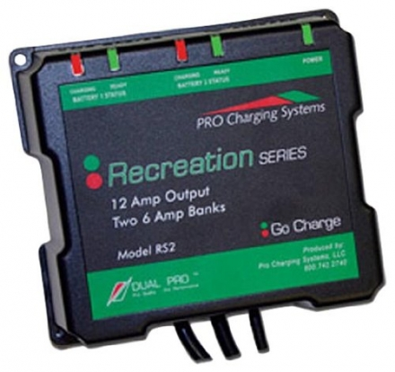 Dual Pro Recreational Series Battery Charger
