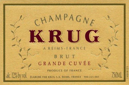 NV Krug Grande Cuvee, Champagne, With Gift Box 750 mL