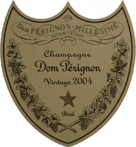 2004 Dom Perignon, Champagne, With Gift Box 750 mL