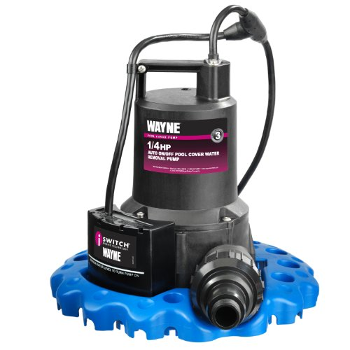 Wayne 57729-WYNP Automatic ON/OFF Water Removal Pool Cover Pump
