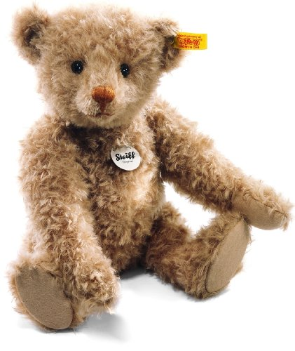 Steiff Classic Teddy Bear Plush, Cinnamon