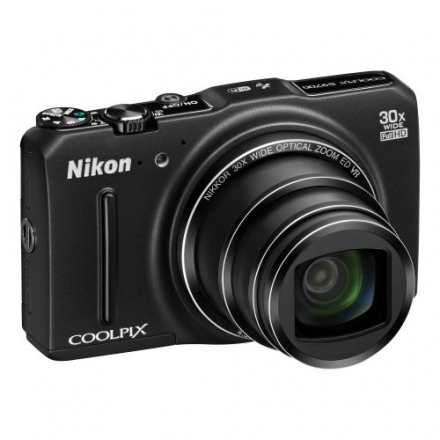 Nikon COOLPIX S9700 16.0 MP Wi-Fi Digital Camera with 30x Zoom NIKKOR Lens, GPS, and Full HD 1080p V