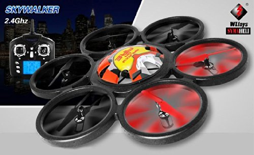 NEW ARRIVAL 2014 !! WLToys Skywalker V323 SIX-Motor 2.4GHz 4.Ch 6-Axis RC Hexacopter <color may vary>