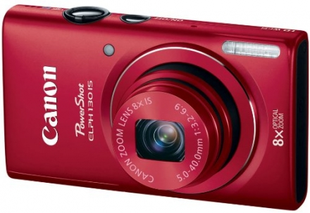 Canon PowerShot ELPH 130 IS 16.0 MP Digital Camera with 8x Optical Zoom 28mm Wide-Angle Lens and 720