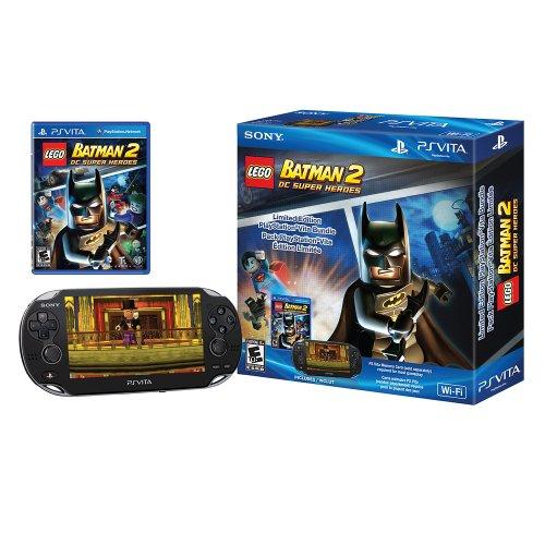 PlayStation Vita LEGO Batman 2 DC Super Heroes Wi-Fi Bundle