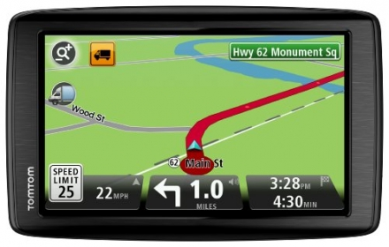TomTom VIA 1605M RV GPS Navigator with Lifetime Maps