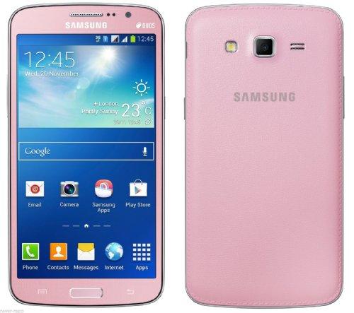 New Smart Phone Samsung Galaxy Grand 2 Duos G7102 Pink (FACTORY UNLOCKED) 8GB , 5.25″ , 8MP