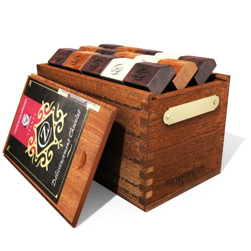 45 pcs Brown Mahogany Chocolate Box